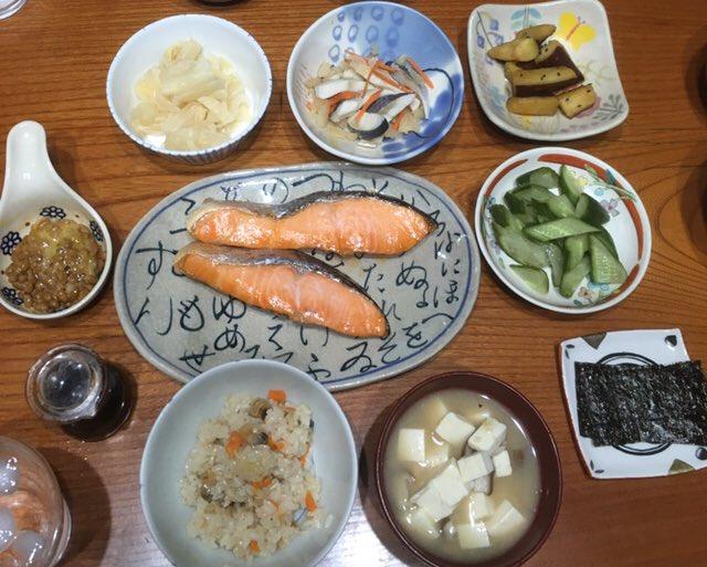 RT @midori37236900: #ご飯を取り付けること何て言う? 広島では #つぐ ? #朝ごはん #おうちごはん #Twitter家庭料理部 #HIDEKIFOREVERblue https://t.co/v6gd815iP1