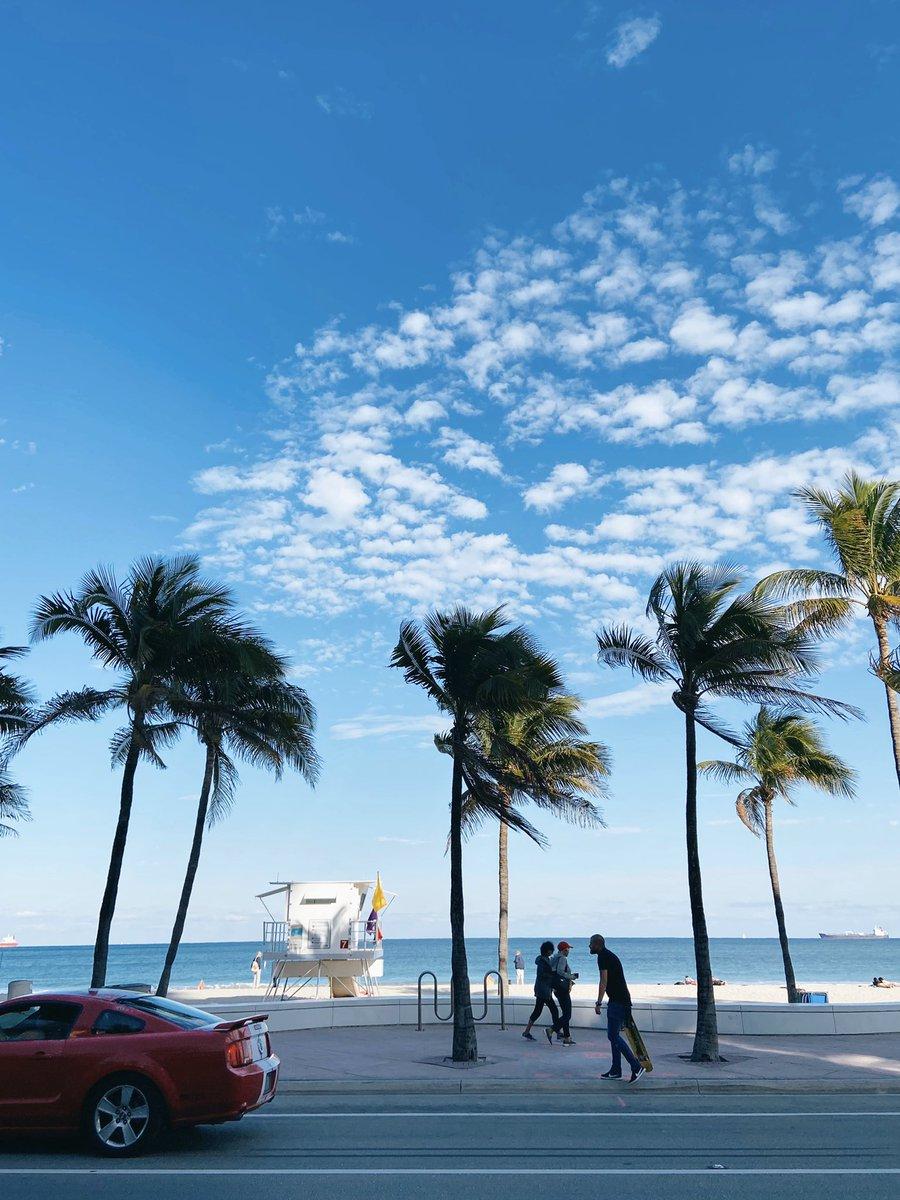 Ft. Lauderdale, de las mejores playas en Miami! pic.twitter.com/FGF6g1M1qp