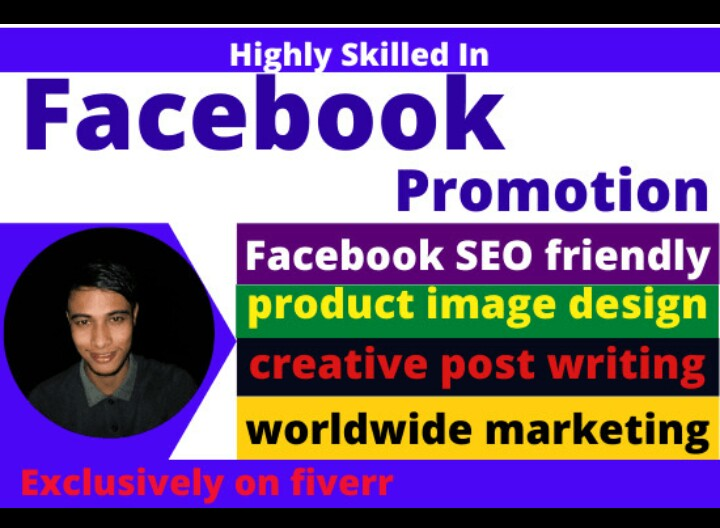 Very easy to grow your business by Facebook Marketing and promotion.#DigitalTransformation #100DaysOfCode #digitalart #facebookpromotion #facebookmarketing #FacebookLive https://www.fiverr.com/s2/82237500ba?utm_source=com.google.android.apps.docs_Mobile …