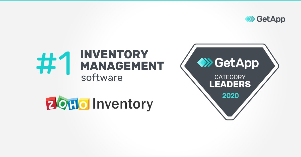 Best Inventory Management Solutions in 2020: @ZohoInventory takes the #1 spot on @GetApp's 2020 #CategoryLeaders ranking! Trophy Clapping hands sign https://bit.ly/3c4Qx4T #zohoinventory #digitalsme #DigitalTransformation