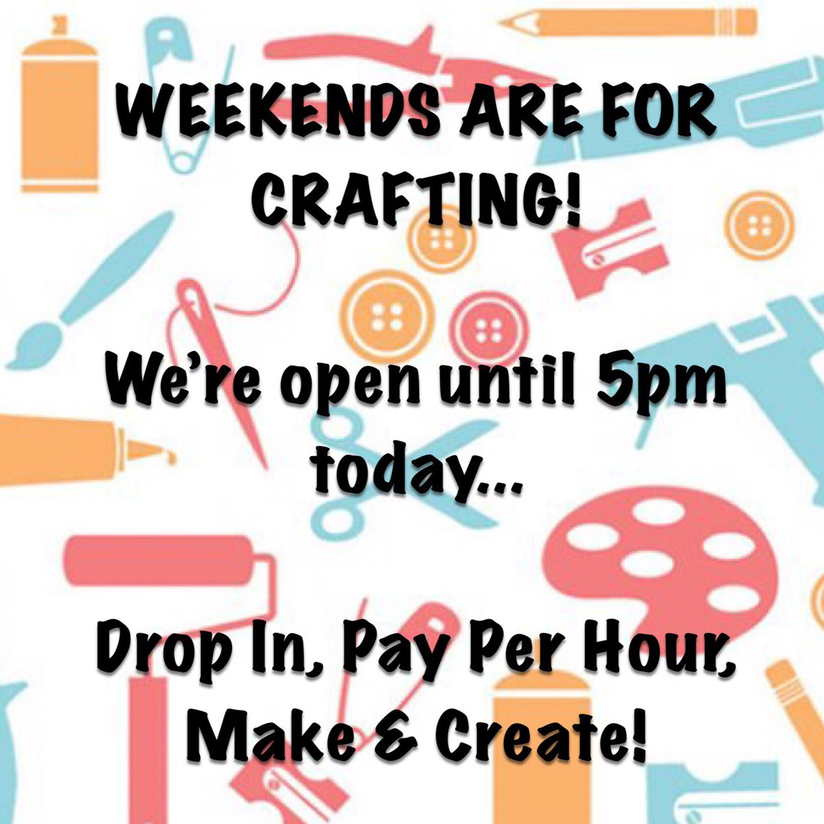 Happy Saturday crafters   Come and shelter from the miserable wet weather at Craft House today! We've got lots of new stock too, including LOL dolls, tinkerbell, trucks and tractors! #whitleybay #northtyneside #nefollowers #ourwhitleybay #northtynesidedaily #northeastenglandpic.twitter.com/xpgBUM5OjE