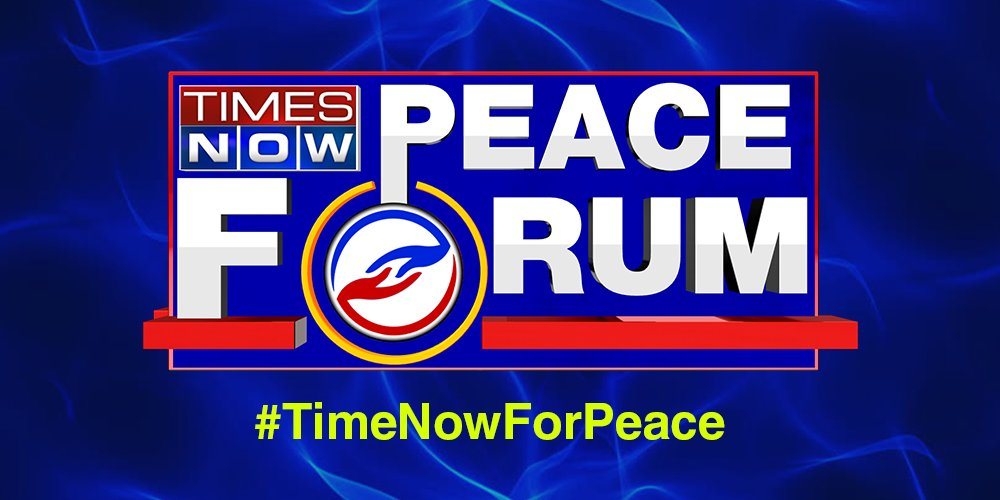 EXPRESS your love for the idea of India/Unite for peace and post your message on TIMES NOW PEACE FORUM using #TimeNowForPeace.You can also share your views via WhatsApp on 9711880032. Tweet with #TimeNowForPeace.