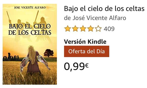 > BAJO EL CIELO DE LOS CELTAS de @JV_Alfaro hoy en #KindleFlash a 0,99€   >> https://www.amazon.es/dp/B01FGGQRQS/ref=cm_sw_r_cp_awdb_t1_DRGwEbYJ0050C/?tag=deivhe07-21…  #novela #novelahistorica #epoca #celtas #druidas #intriga #amor #cultura #leer #queleer #lectura #libro #ebooks #kindle #kindlebooks #amazon#FelizSabado #FelizFindepic.twitter.com/q0kGnQdfMS