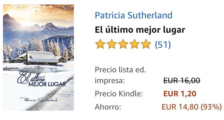 > EL ÚLTIMO MEJOR LUGAR de @JeraRomance hoy en #KindleFlash a 1,20€   >> https://www.amazon.es/dp/B01K7XI0VA/ref=cm_sw_r_cp_awdb_t1_EOGwEb1WQ9R7Y/?tag=deivhe07-21…  #novela #serie #novelaromantica #romantica #romantico #amor #leer #queleer #lectura #libro #ebook #kindle #kindlebook #amazon #FelizSabado #FelizFindepic.twitter.com/yLPaCzHr4i