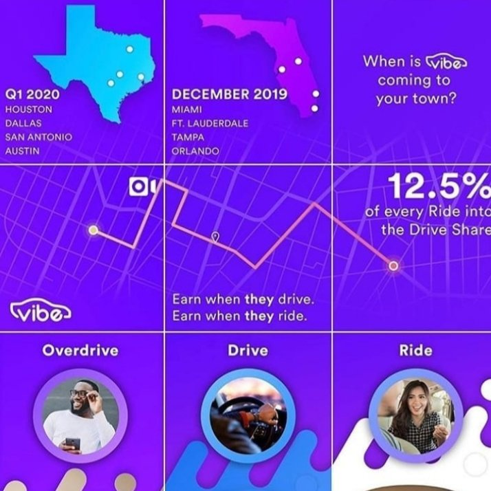If you live in Miami, Ft. Lauderdale,  Orlando, Tampa Flordia or Houston, Dallas Texas and want to drive with Vibe Rides>>>http://Driveforviberides.com  TSA Code A1305776pic.twitter.com/zXw7Hq2hws