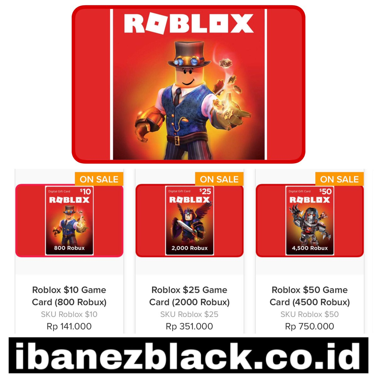 Roblox Game Card Indonesia Robuxgamecard Hashtag On Twitter