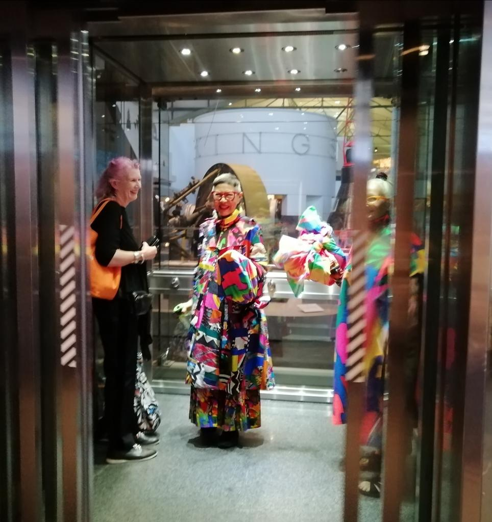 Marnie O Neill On Twitter Omg I Just Papped Legendary And Ageless Australian Fashion Designer Jenny Kee In The Lift Of The Sydney Powerhouse Museum Fashion Sydney Https T Co Emwy507pd2