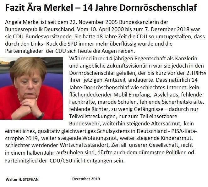 @Bild @NZZ @NHZ_online @morgenpost @Allgaeu @online_MM @merkur_de @TA_online @erfurtpresse @akk @_FriedrichMerz @MU_Ostallgaeu @MUBayern @SuedMittelstand @MittelstandDE @WerteUnion 14 Jahre Dornröschenschlaf reicht Deutschland!pic.twitter.com/WP7uewqWnB