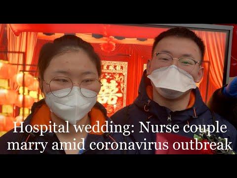 Hospital wedding: Nurse couple marry amid #coronavirus outbreak in #Wuhan https://bit.ly/2I6YMzq