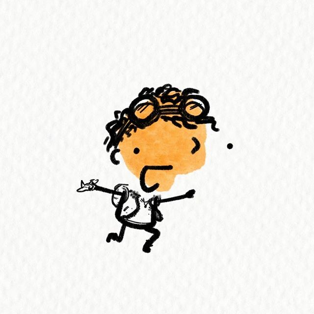 When I grow up I want to fly a plane!⠀⠀#Illustration #characterdesign #instaillustration #illustragram  #illustratorsofinstagram #Inspiration #getinspired #choosejoy #bekindtoothers #encouragement #encourgaingwords #Procreate #madeinaffinity #ipadp… https://ift.tt/2PBtsgp
