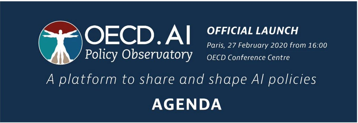 This week @OECD launched AI Policy Observatory. @thepublicvoice, @TheOfficialACM and @CSISAC proud to contribute to this work. And @EPICprivacy provided AI Policy Sourcebook, the first reference book on AI policy. #AI #GoingDigital #fairness #democracy