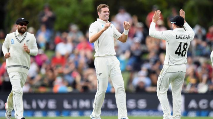 NZL vs IND: Kiwi openers stand tall after Jamieson's five-for on Day 1#indvsnzl #nzlvsind #testcricket #test #indiancricket #cricket #viratkohli #indiancricketteam #rohitsharma #msdhoni #ipl #india #newzealandcricket #t #cwc #blackcapshttps://bit.ly/2Tapwp4