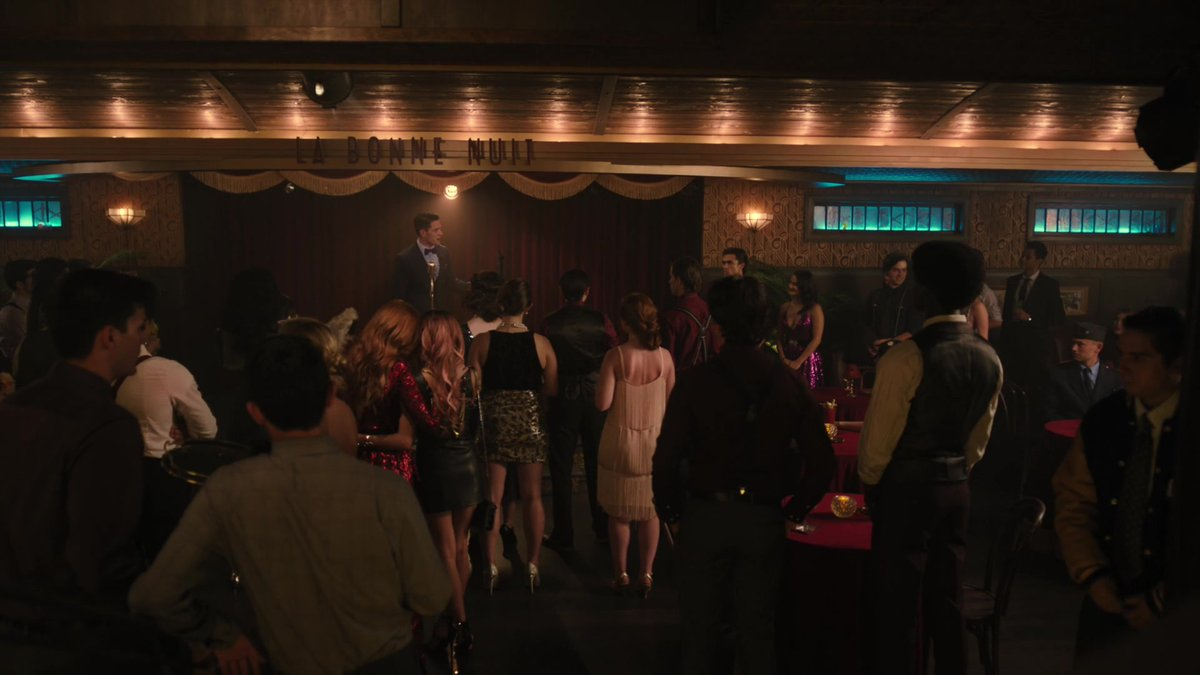 8. ...and having their owns speakeasys with alcohol and their own mark rum with no problem. #Riverdale