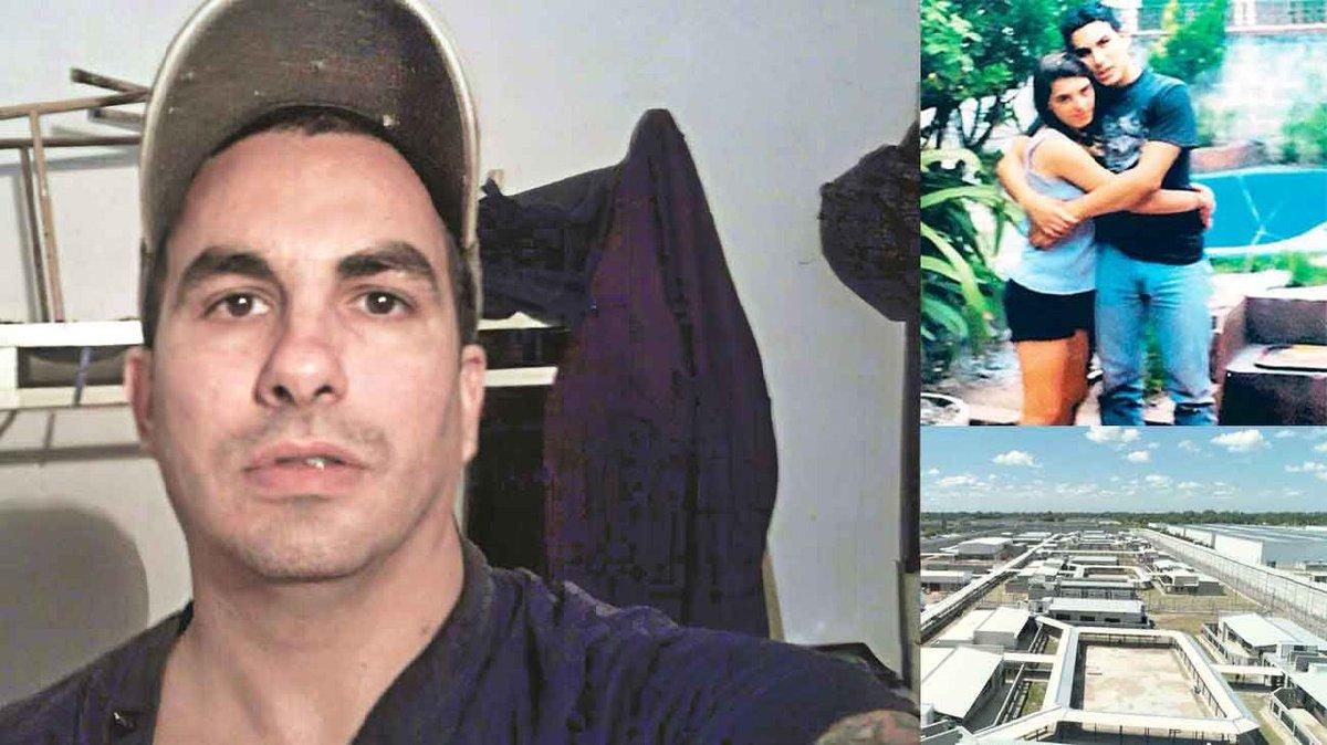 Argentina El femicida #FabiánTablado recupera la libertad #ÚltimaAmenaza te saco el  y me lo como delante tuyo Asesino de las 113 puñaladas alargó su estadía en prisión x amenazar a su exmujer ccn k se casó en la cárcel y tuvo 2 hijas mellizas. #Machismo https://www.perfil.com/amp/noticias/policia/la-ultima-amenaza-de-tablado-a-tu-amante-le-voy-a-sacar-el-corazon-y-me-lo-voy-a-comer-delante-tuyo.phtml…pic.twitter.com/T5cuwpgW7Y