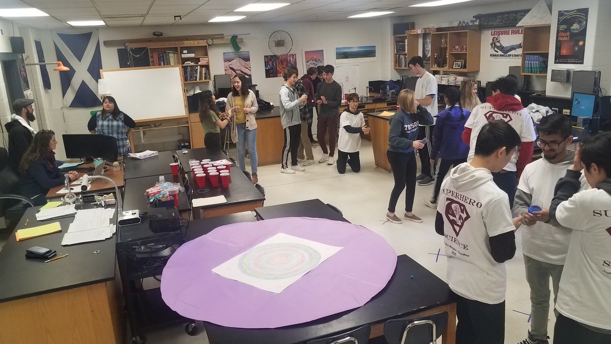 #PO2020 annual Physics Olympics is in full swing!