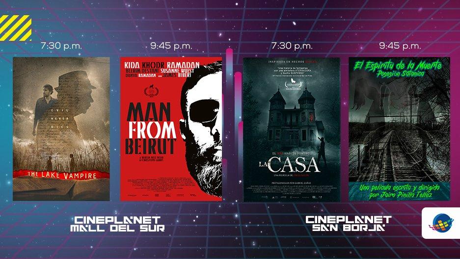 ¡ÚLTIMOS DÍAS para asistir al Festival Insólito 2020! 👻🎬 Te esperamos en Cineplanet Mall del Sur y San Borja con las películas expuestas en Competencia Internacional de Largometrajes. ¡ADQUIERE TUS ENTRADAS A PRECIO DE MARTES aquí 👉 https://t.co/30Nor6KYqN https://t.co/kuly2tj7Vk