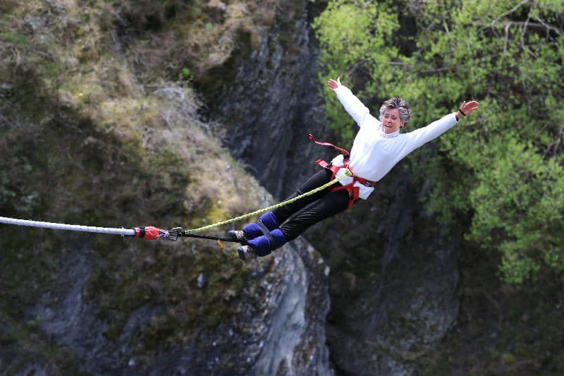 Happy #leapday! One of our amazing travel advisors, Beth, is pictured in #NewZealand bungee jumping over the Kawarau River during a @swaindest tour. #AdventureTravel is one of Beth's specialties, and she looks forward to turning your wildest dreams into reality! https://t.co/1nWdpgRzkF