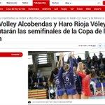 Image for the Tweet beginning: Feel Volley #Alcobendas y Haro