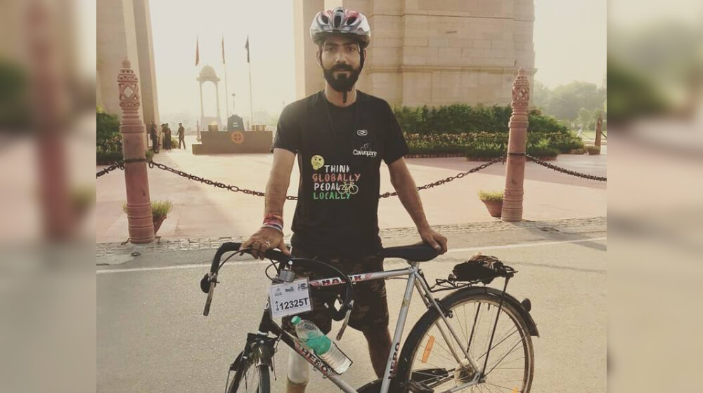 #Sportsmatik had a fabulous interview session with #India's National Para-cyclist Akshay Singh Rajput who has attempted for Limca Book of Records by covering Kanpur to Mumbai within 5 days. Read the inspirational story of this talented #Paracyclist here -https://sportsmatik.com/blog/article/akshay-singh-rajput-a-keen-bicycle-rider-with-big-dreams …