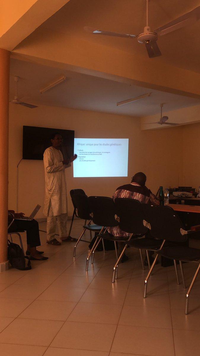 #RareDiseaseDay #Mali #H3Africa #Guidalandoure #USTTB – at Faculté de médecine,de pharmacie et d'odontostomatologie du Mali