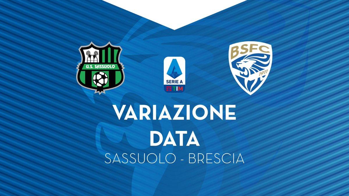 #SassuoloBrescia