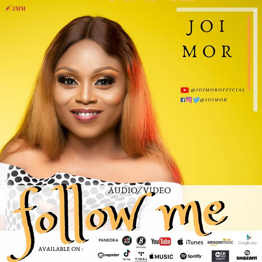 """Nigerian singer-songwriter and Gospel artist,Joi Morreturns with a brand new single """"Follow Me,"""" accompanied by a live performance video.  #ChristianMusic #ChristianSong #ChristianSongs #DownloadNigerianGospelMusic #GospelMP3 #GospelMusic #GospelSongs # https://gospelhits.com.ng/joi-mor-follow-me-video-lyrics/…pic.twitter.com/DJU3yQtOTB"""