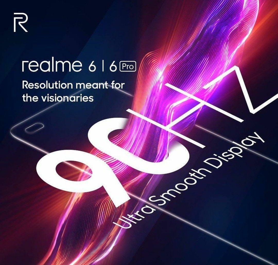 Realme 6 & Realme 6 Pro Both Will Have 90HZ Display & Also Both Will Have 64MP Camera Confirmed. pic.twitter.com/74Gv3ZVcKN