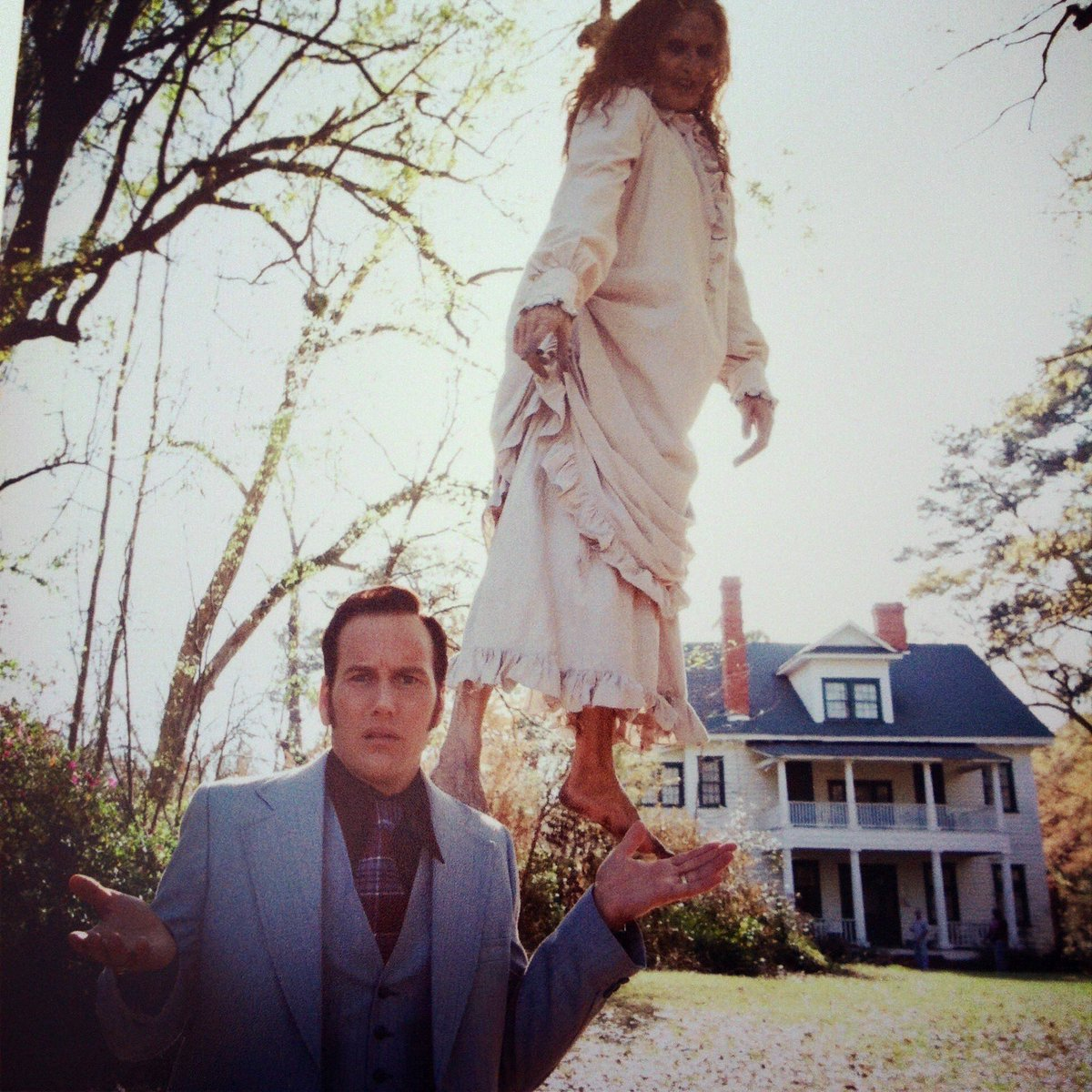 Fear Catalogue On Twitter The Conjuring 2013 Patrick Wilson Messing Around Behind The Scenes