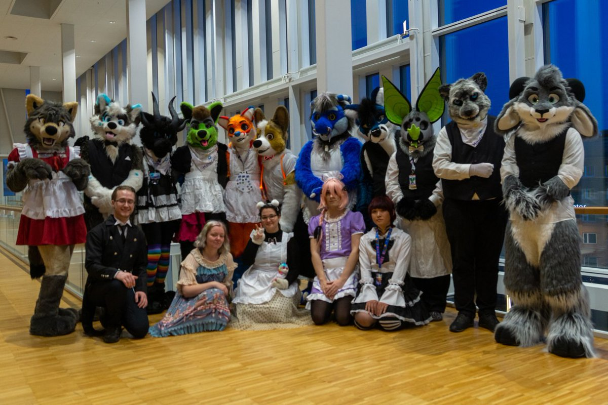 Here's some pictures from the Maid Cafe photoshoot @NordicFuzzCon these turned out great! #nordicfuzzcon  @Timmyfox<br>http://pic.twitter.com/kVZQQwnGvQ
