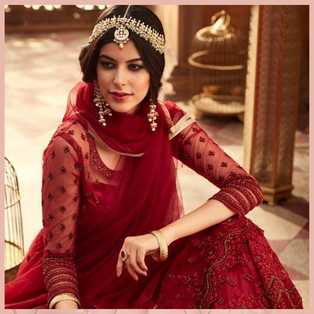 """Comment """""""" if you love this Red Embroidered Net Salwar from @mirraw. Shop now and get up to 80% off. Product ID - 3090665 Product details & price - http://bit.ly/2PvcsIz . . #ClassicSale #RelivIndia #Trendy #RedSalwar #Salwar  #Ethnicwear #Mirraw #Mirrawindiapic.twitter.com/M3WMySvP9Z"""
