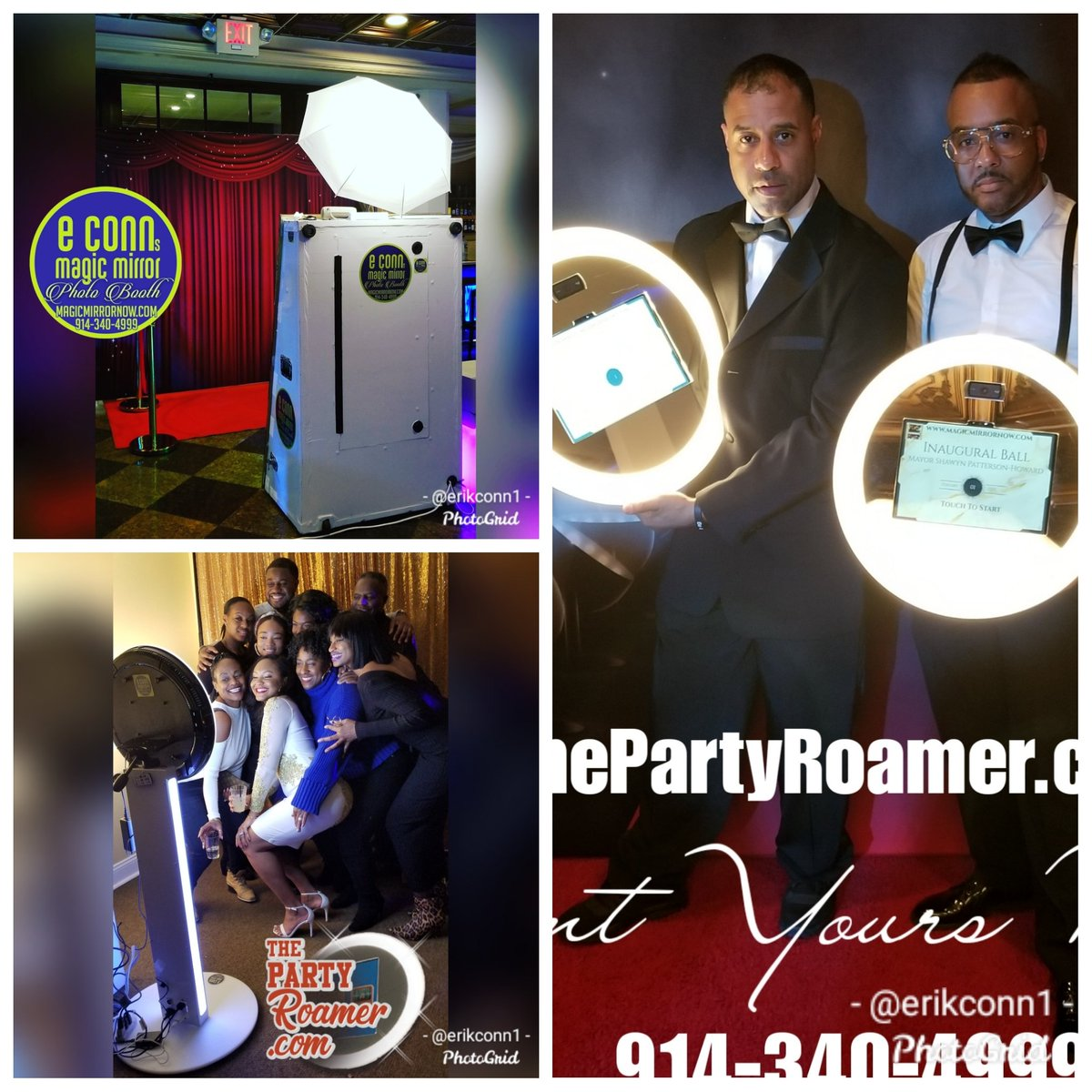 You Choose! The Magic Mirror Photo Booth and http://ThePartyRoamer.com  #1 In The Tri-State Area! http://www.magicmirrornow.com   #photoboothrental #rentphotobooth #blackexcellence #thepartyroamer #partyroamernyc #magicmirror #mirrormebooth #photobooth #birthdays #weddings #corporateeventspic.twitter.com/O3ebkboq0s