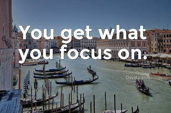 """Focus.  Merriam-Webster defines it as a center of activity, attraction, or attention.   A point of concentration.   Whatever you attempt to do today, just focus and see what results you get""#focus #yougotthis  #quoteoftheday #quotes #motivation #thoughtoftheday"