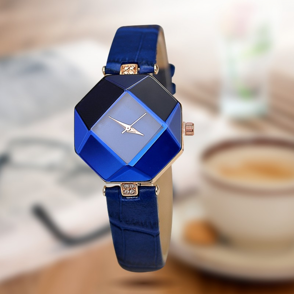 #fashionista #ootd Women's Fashion Watch With Octagonal Dial