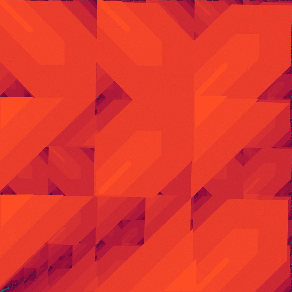 iteration 20200229 (enneaptych 4 of 9)#abstract #art #codeArt #contemporary #creativeCoding #fractal #generative #generativeArt #generativeDesign #iteration #pattern #processing #tangerine