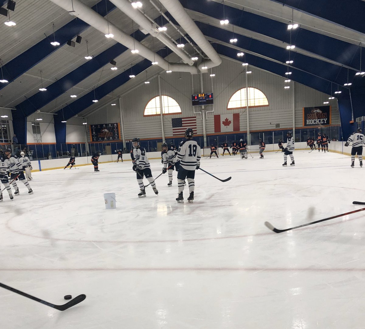 🏒 Nobles vs. Milton @nobleshockey @MiltonAcad_puck #NEPrepped