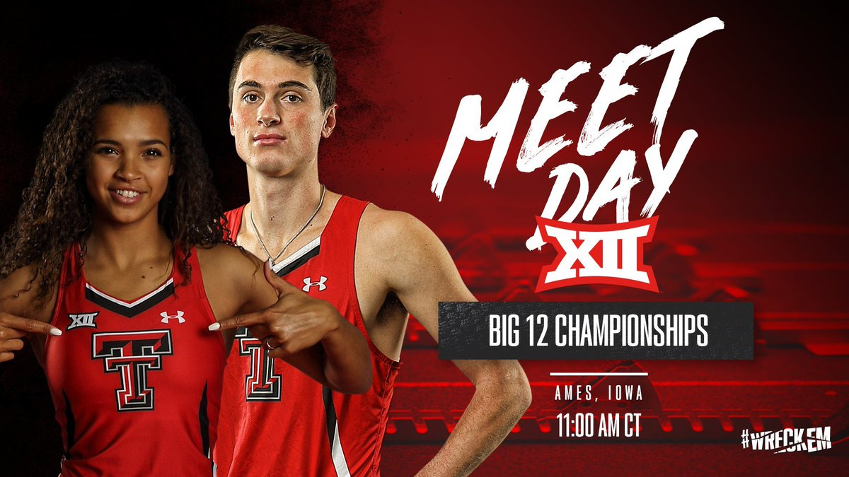 A lead to hold, and a lead to take. 🔴#WreckEm | #Big12TF⚫️