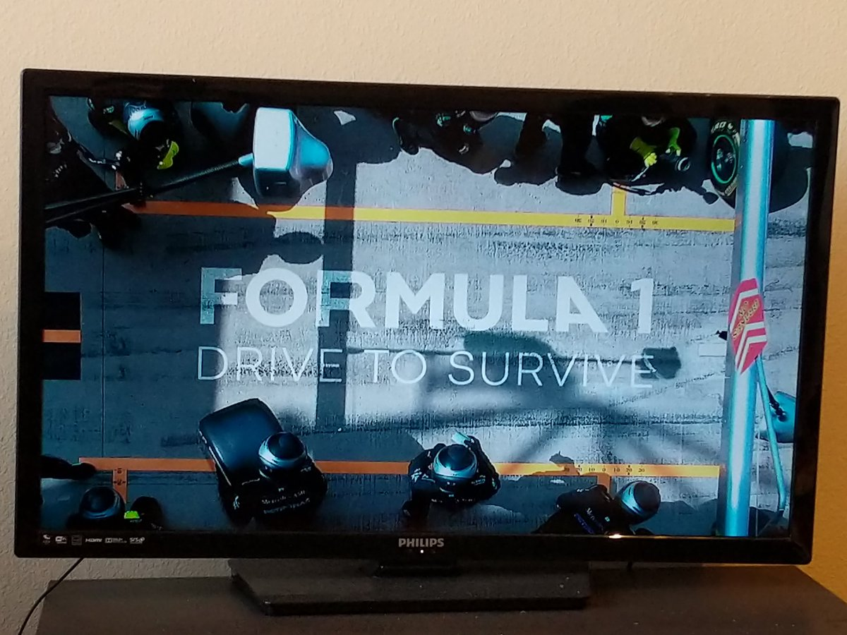 Perfect start to the weekend with @F1 Drive to Survive on @netflix