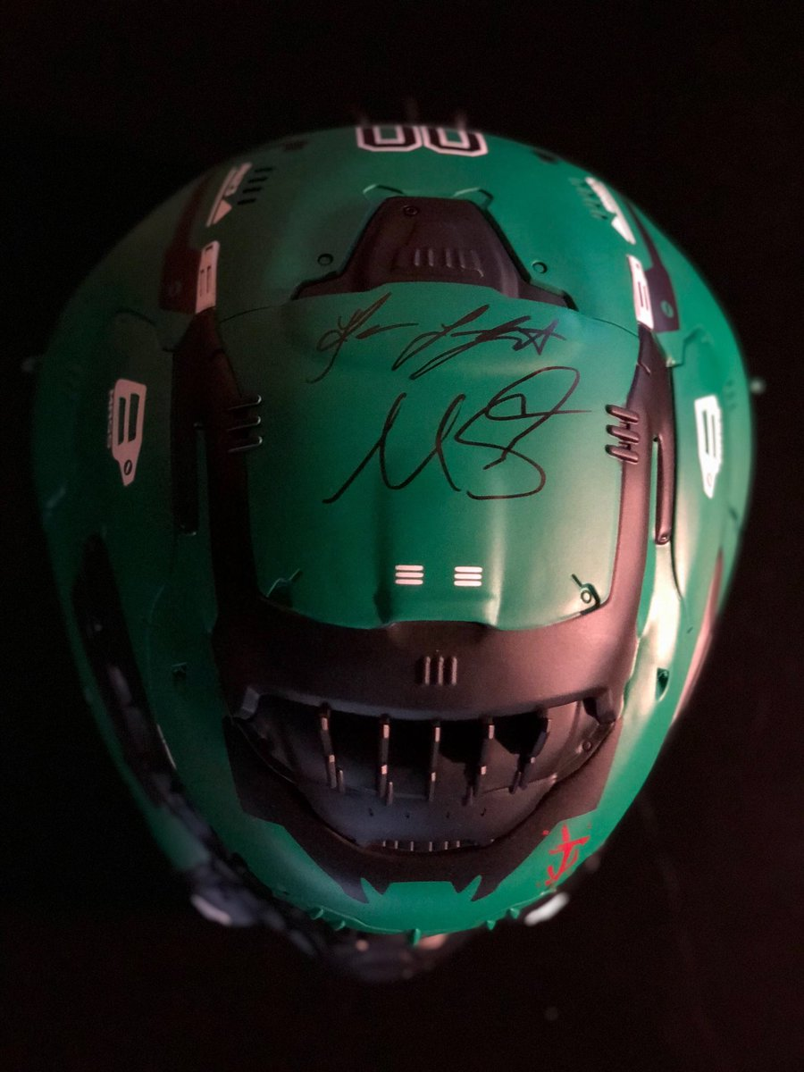 Doom On Twitter Custom Boston Celtics Slayer Helmet By