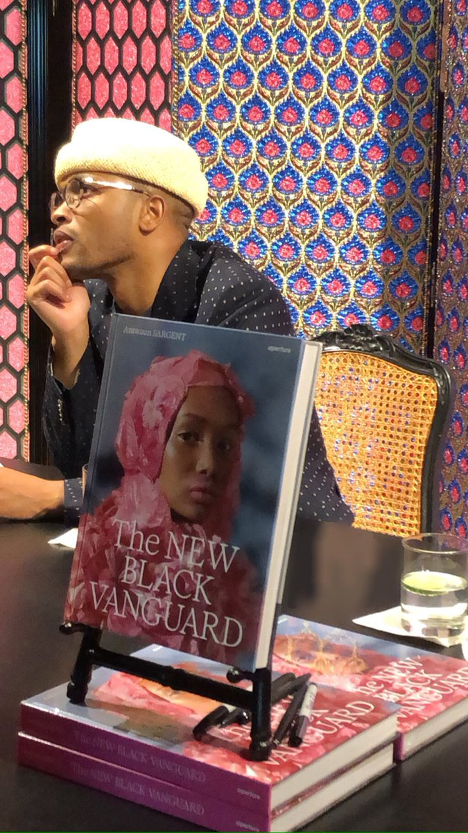 Thanks @gucci and everyone who came to celebrate the photographers. The book is being reprinted and should be back in stock and widely available soon. #newblackvanguard