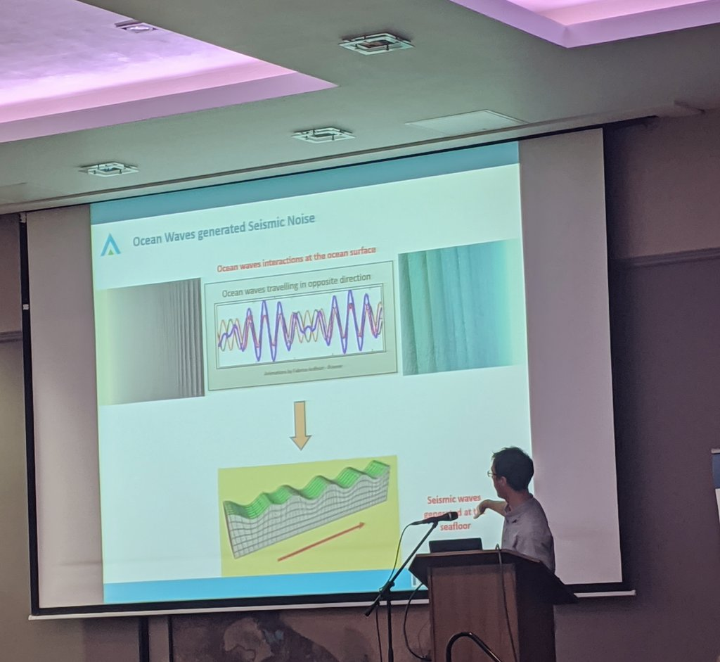 test Twitter Media - Dr. Florian Le Pape presenting his research on the seismic signature of the North Atlantic climate fluctuations at #IGRM2020   @DIAS_Dublin @GeolSurvIE  #DIASdiscovers https://t.co/WlWTqhjnqM