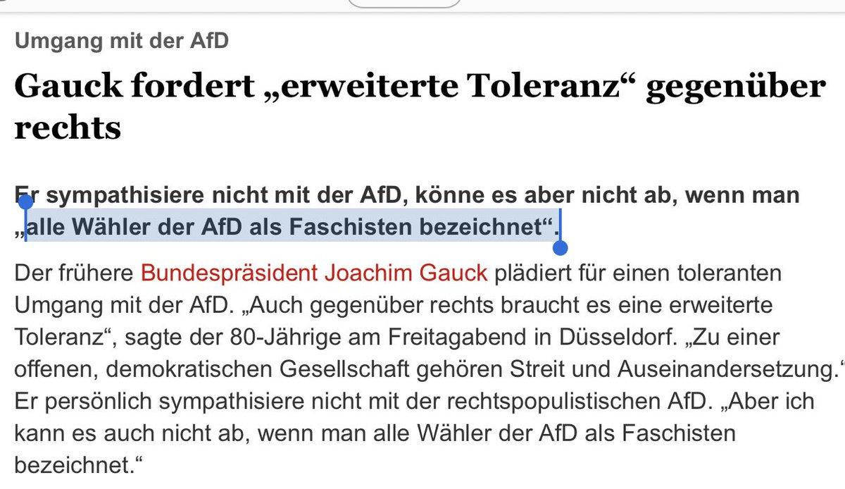 #Gauck