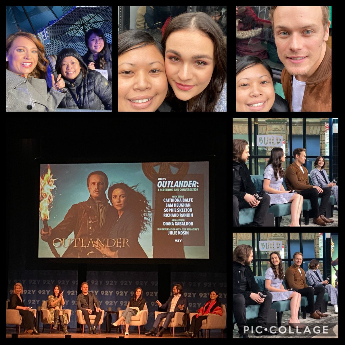 Had the most amazing week. 2020 is off to a great start. It was #Outlander week for me! Was lucky enough to see them in NYC and LA. #OutlanderS5 #OutlanderSeason5Premiere @Outlander_STARZ @Writer_DG @SkeltonSophie @caitrionambalfe @SamHeughan @RikRankin Back to work tomorrow...😭
