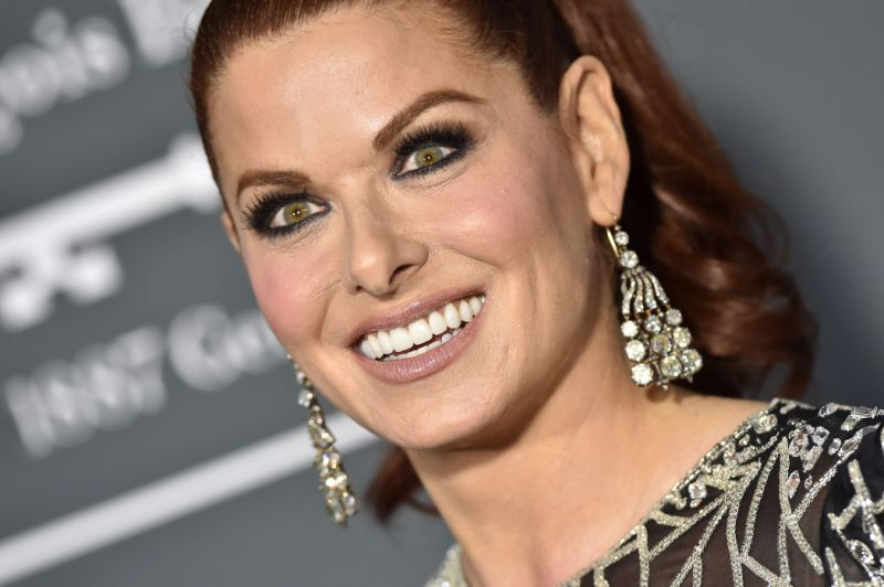 #DebraMessing is best known for her role on NBC's award winning comedy #WillAndGrace. She is also known for her  award-winning work in TV, film, and theater and her advocacy as a Global Health Ambassador, the Women's March, LGBTQ causes, and is a past honoree from the TVAA. pic.twitter.com/xt6mbhiH7R