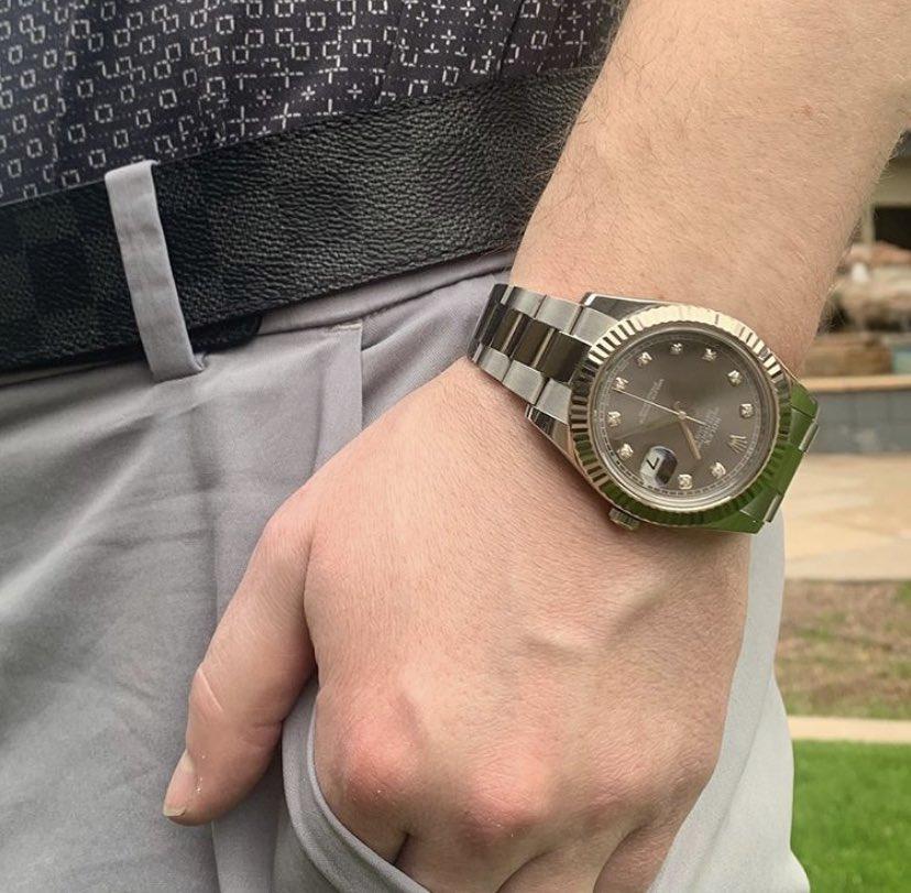 Rhodium Dial Rocking #watchlinkjewelry #shopwatches #rolex #rolexdatejust #datejust #diamonddial #diamonds #stainlesssteel #rhodiumdial #luxurylifestyle #statementwatches #watchoftheday #wristcandy #watchespic.twitter.com/nf5Plylrxo