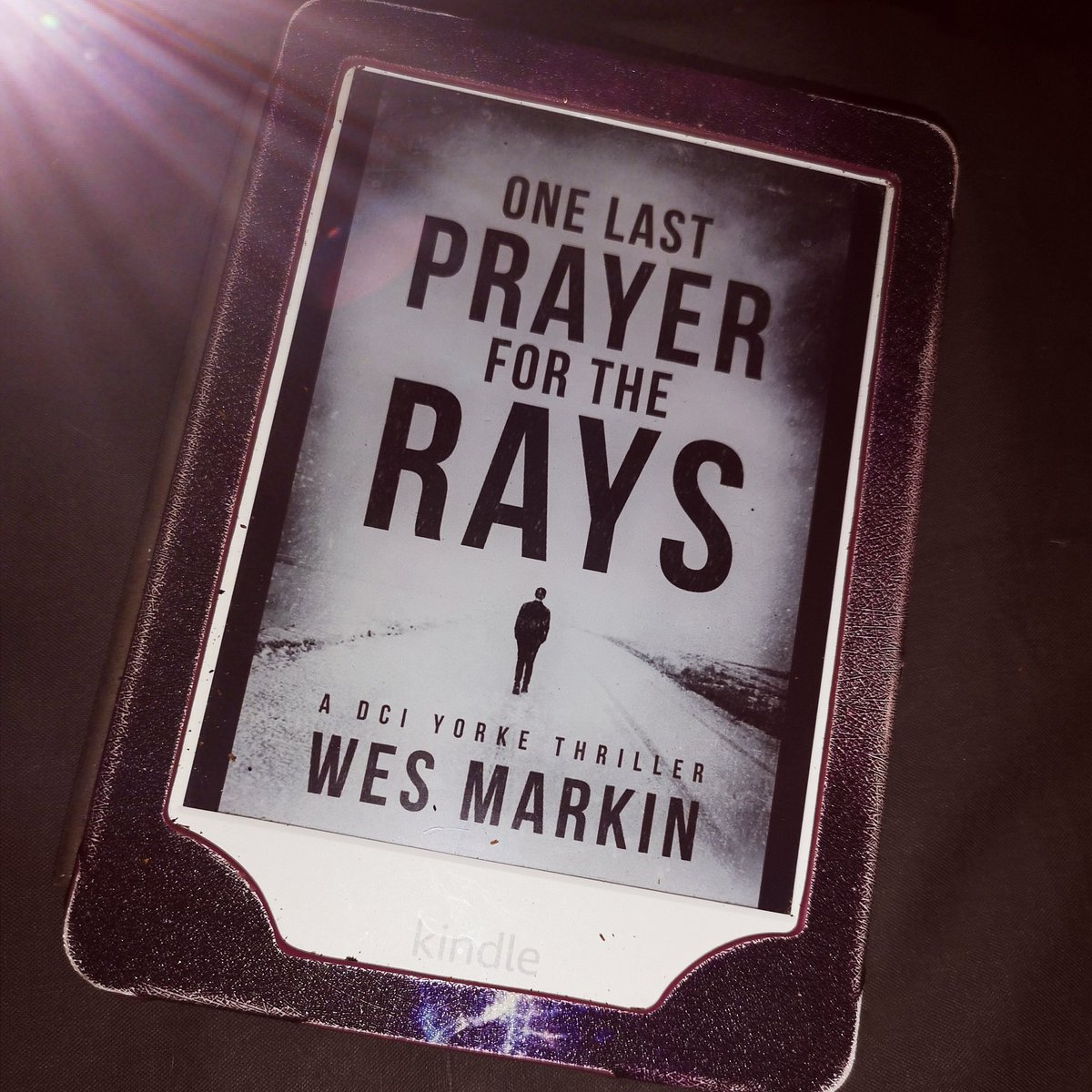 Currently Starting to read this  One Last Prayer for the Rays by Wes Markin. Been looking forward to starting this series. #thriller #bookblogger #currentlyreading #wesmarkin #books #kindle #allnewkindle #bookblogging #booklovepic.twitter.com/t4fJhpPqr8