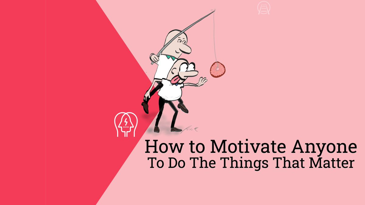 "Learn to #influence the ""critter"" brain, motivate the ""executive"" brain and use this understanding to hack the neuro-psychology of #influence and motivation and learn: ""How to Motivate Anyone to Do the Things That Matter""  https://buff.ly/322Fpkr  via @drjohnkenworthy #leaderspic.twitter.com/PpiY3tRsOC"