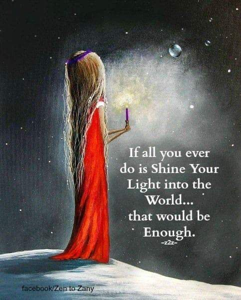 If all you ever do is #shine your #light into the #world...that would be enough   #JesseLewisChooseLoveMovement #LightUpTheLove #Love  #TuesdayThoughts  #WednesdayWisdom #JoyTRAIN #GoldenHearts #ChooseLove #FamilyTrain #StarFishClub #IAMChoosingLovepic.twitter.com/BeHxmDZIqk