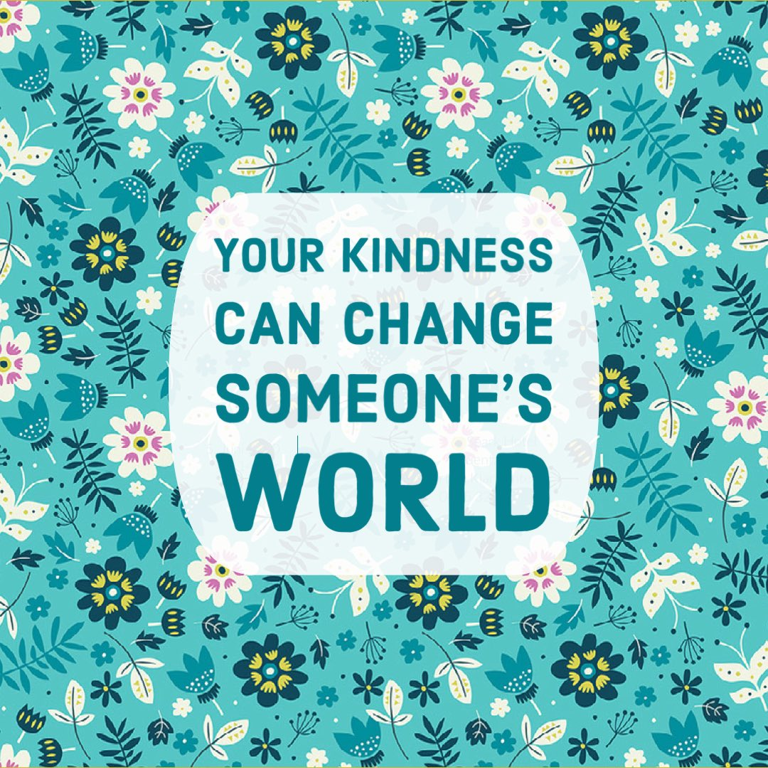 Kindness matters today + always. Happy #RandomActsOfKindessDay! 🤗 #ChannelKindness