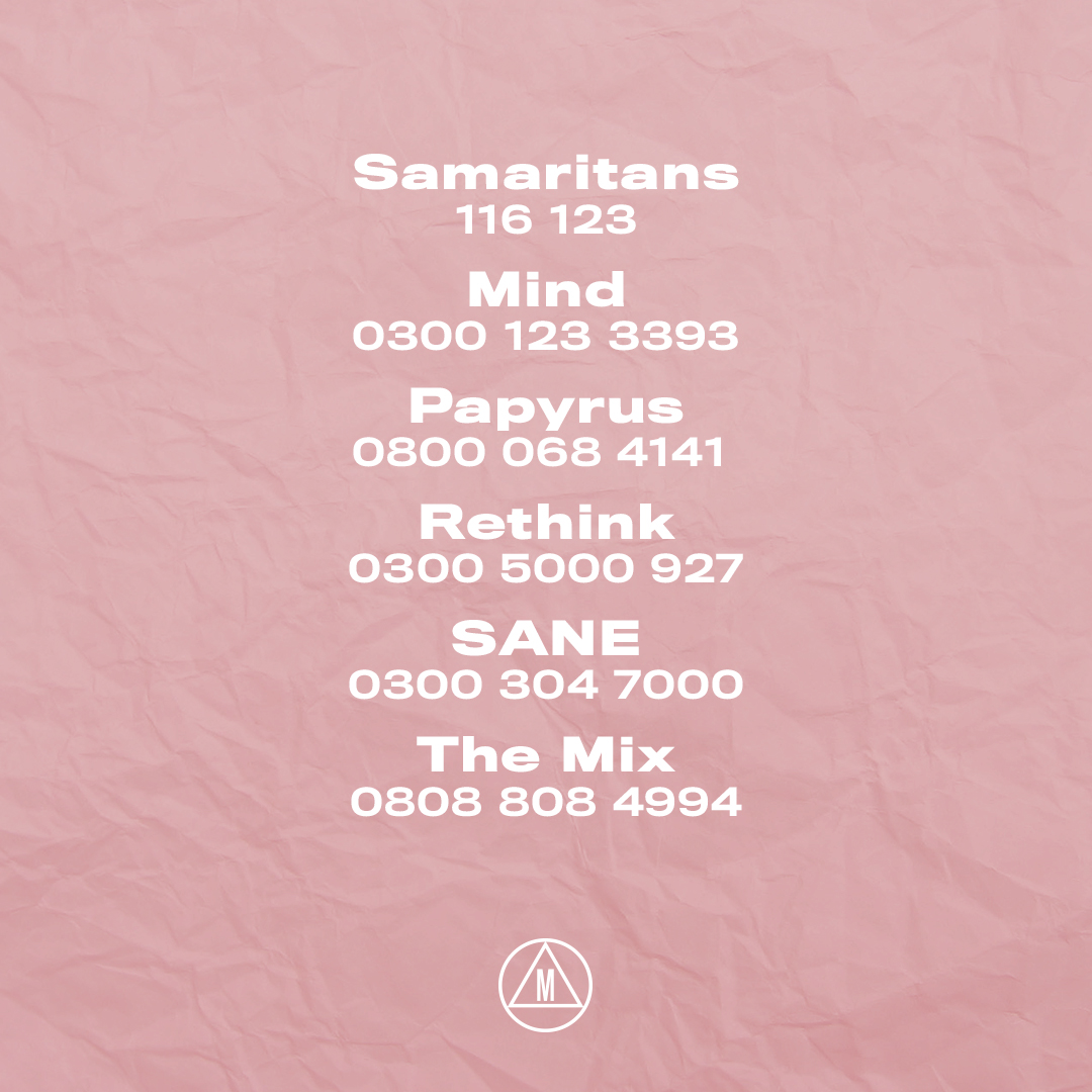 In light of the tragic news around the loss of Caroline, we will no longer be tweeting through this series of Love Island. Please remember that you are never alone, and you are never a burden. If you need help, reach out to one of the organisations below ❤️