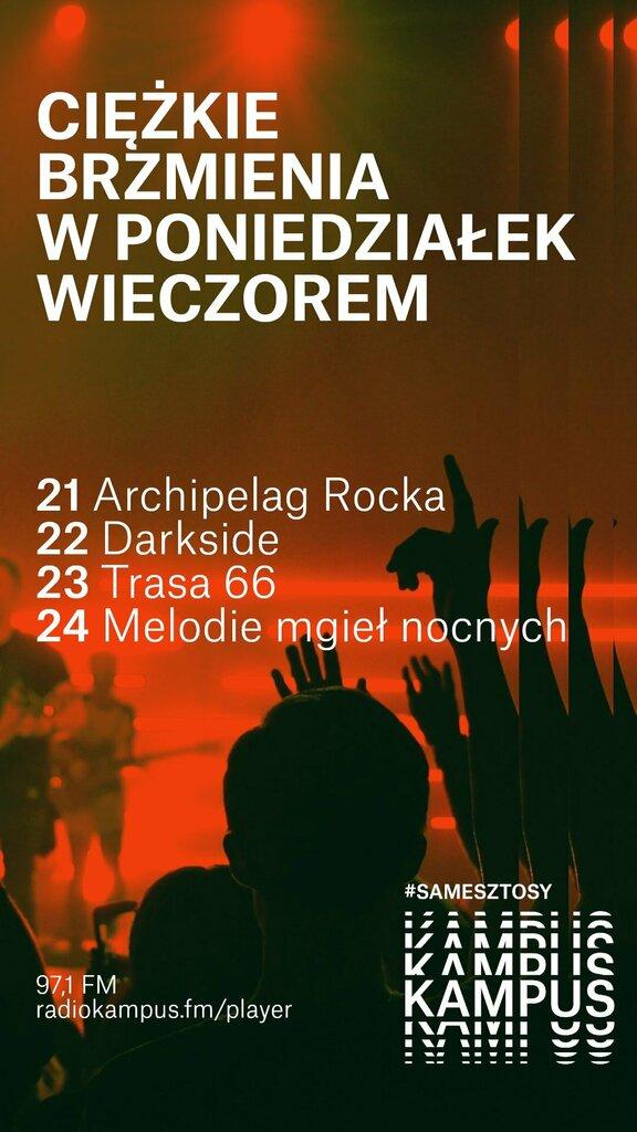 🎸 97,1 FM w poniedziałki wieczorem to #rock i #metal! 🥁 Posłuchaj:  #Warszawa #samesztosy